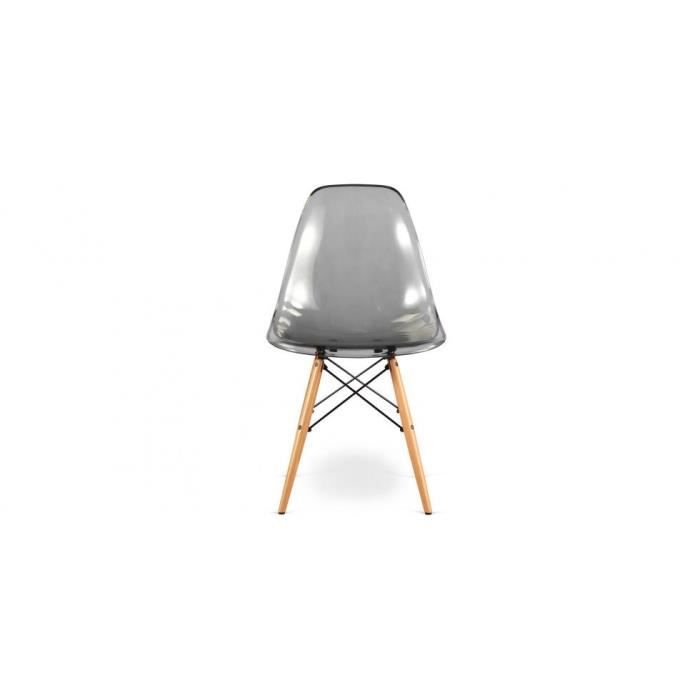 chaise style acrylique dsw charles eames - transparent - achat ... - Chaise Dsw Charles Eames