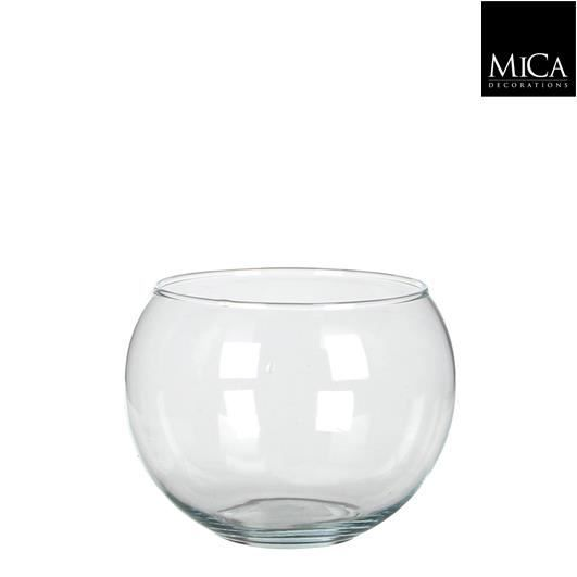 vase boule en verre d13 cm achat vente vase. Black Bedroom Furniture Sets. Home Design Ideas