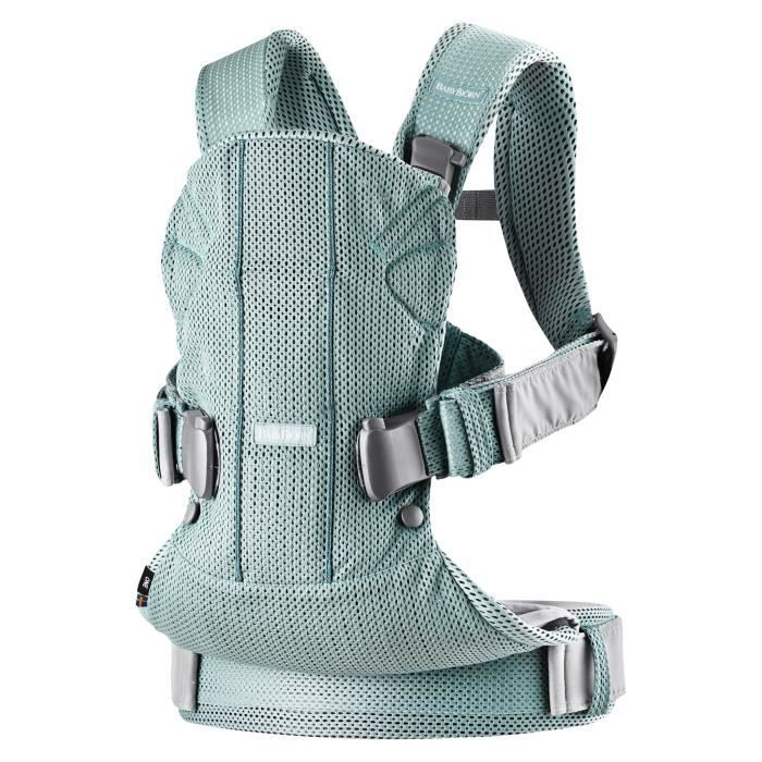 Photo de babybjorn-porte-bebe-one-air-mesh-3d-vert-givre
