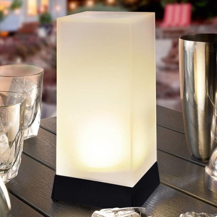 High Cube Lampe De Table Solaire