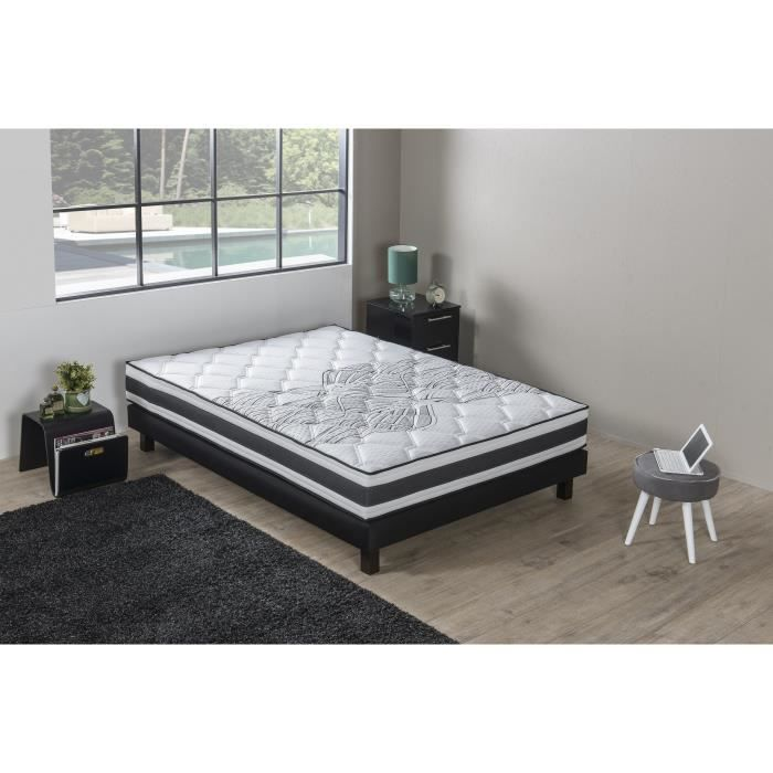 finlandek ensemble matelas sommier arkuus 180x200 cm ressorts equilibr 780 ressorts. Black Bedroom Furniture Sets. Home Design Ideas