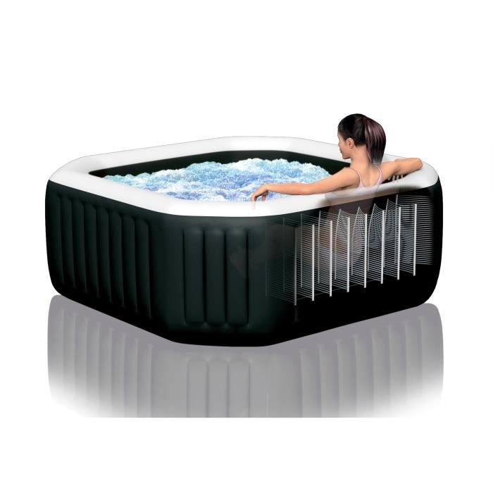 Intex Pure Spa 28462ex Carbone 6 Places Achat Vente Spa