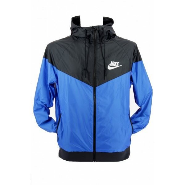 veste nike windrunner 544119 4 bleu achat vente veste cdiscount. Black Bedroom Furniture Sets. Home Design Ideas