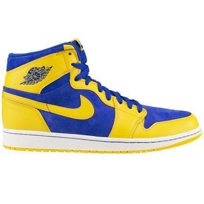 air jordan 1 bleu jaune