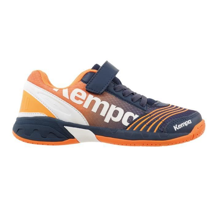 CHAUSSURES DE HANDBALL Chaussures Handball Attack Bleu Orange Junior 239990385c8c