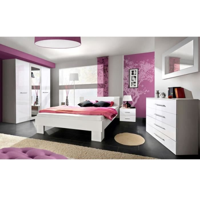 Paris prix chambre compl te adulte 6p vicky 180x200cm for Chambres a coucher completes adultes