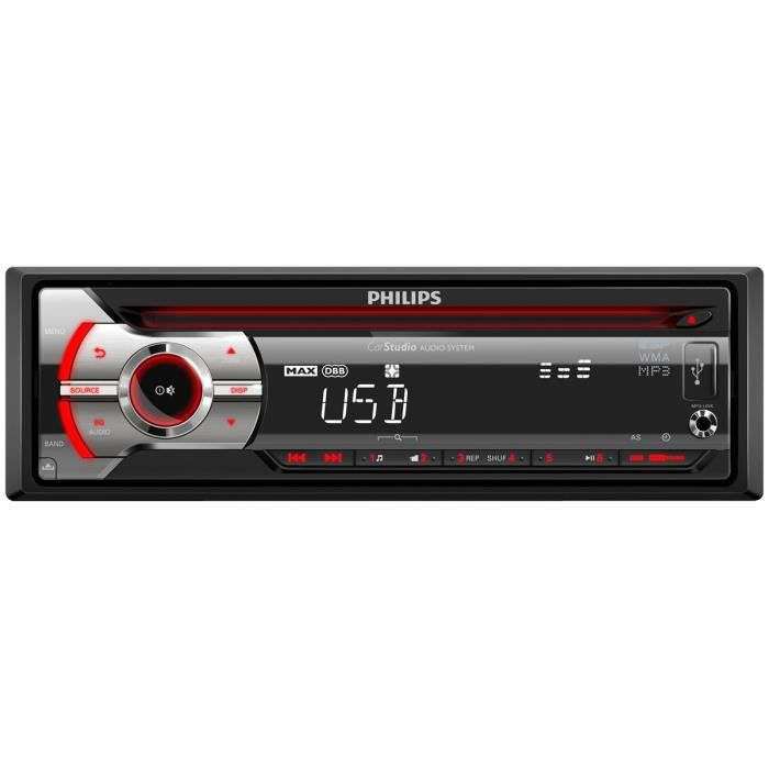 philips cem2090 autoradio cd usb aur achat vente autoradio philips cem2090 autoradio. Black Bedroom Furniture Sets. Home Design Ideas