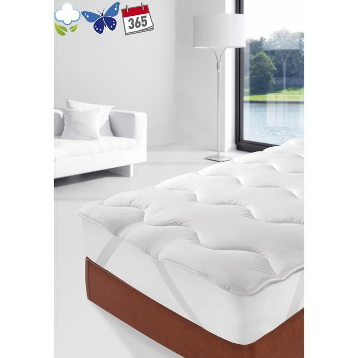 surmatelas 90x190 achat vente surmatelas 90x190 pas cher cdiscount. Black Bedroom Furniture Sets. Home Design Ideas