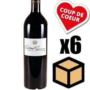 VIN ROUGE  X6 Château Sociando-Mallet « Jean Gautreau » 1997