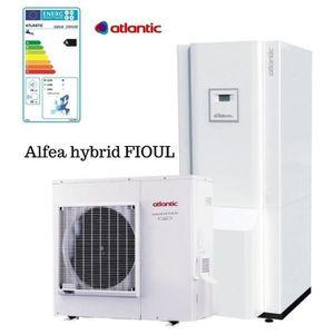 POMPE À CHALEUR Hybrid Duo Fioul A.I. tri 11 400V Atlantic 11 Kw p