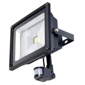 projecteur led detecteur 50w achat vente projecteur. Black Bedroom Furniture Sets. Home Design Ideas