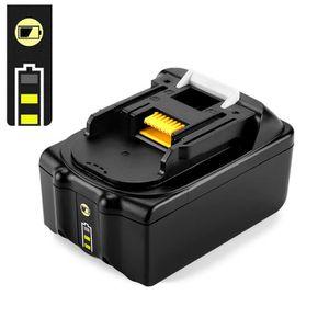 OPSON 18V 6,0Ah Li-ion Batterie de Remplacement pour Makita BL1860 BL1840 BL1850 bl1830 BL1820 BL1815