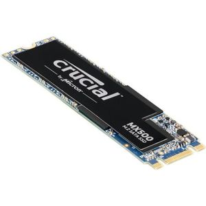 DISQUE DUR SSD CRUCIAL - SSD Interne - MX500 - 500Go - M.2 (CT500