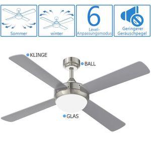 VENTILATEUR DE PLAFOND YUNLIGHTS 52 pouces 220V réversible ventilateur de
