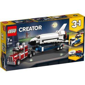 ASSEMBLAGE CONSTRUCTION LEGO® Creator 3-en-1 31091 - Le Transporteur de Na