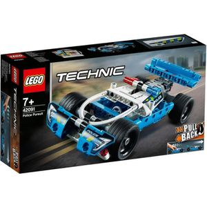 ASSEMBLAGE CONSTRUCTION LEGO® Technic 42091 La voiture de police