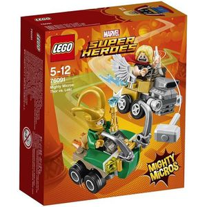ASSEMBLAGE CONSTRUCTION LEGO® Marvel Super Heroes 76091 Mighty Micros : Th