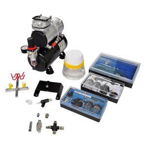 COMPRESSEUR Kit de compresseur d'aérographe Compresseur avec r