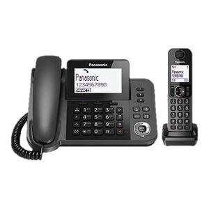 Téléphone fixe Panasonic Wireless Combo (2 en 1) KX-TGF310EX