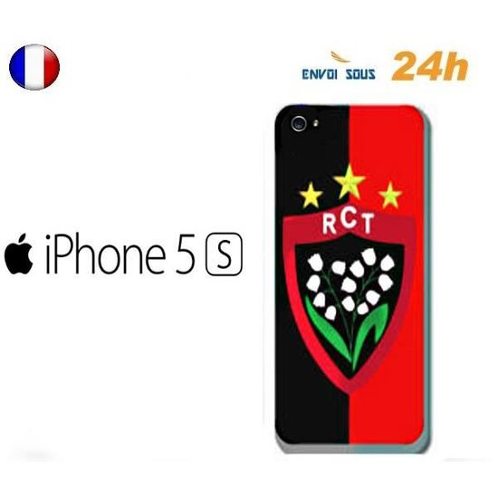 coque iphone 5 5s toulon rct rugby