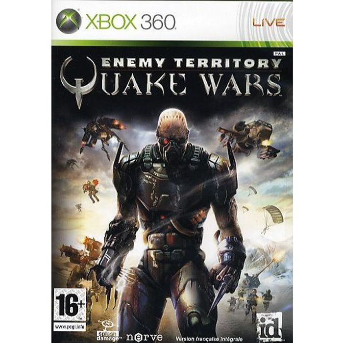 enemy territory quake wars jeu console xbox360 achat vente jeux xbox 360 enemy territory. Black Bedroom Furniture Sets. Home Design Ideas