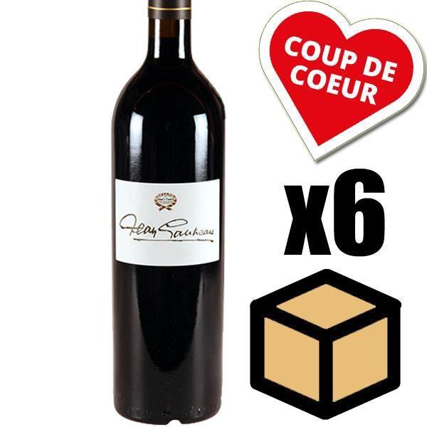 X6 Château Sociando-Mallet « Jean Gautreau » 1997 Rouge 75 cl AOC Haut-Médoc Vin Rouge