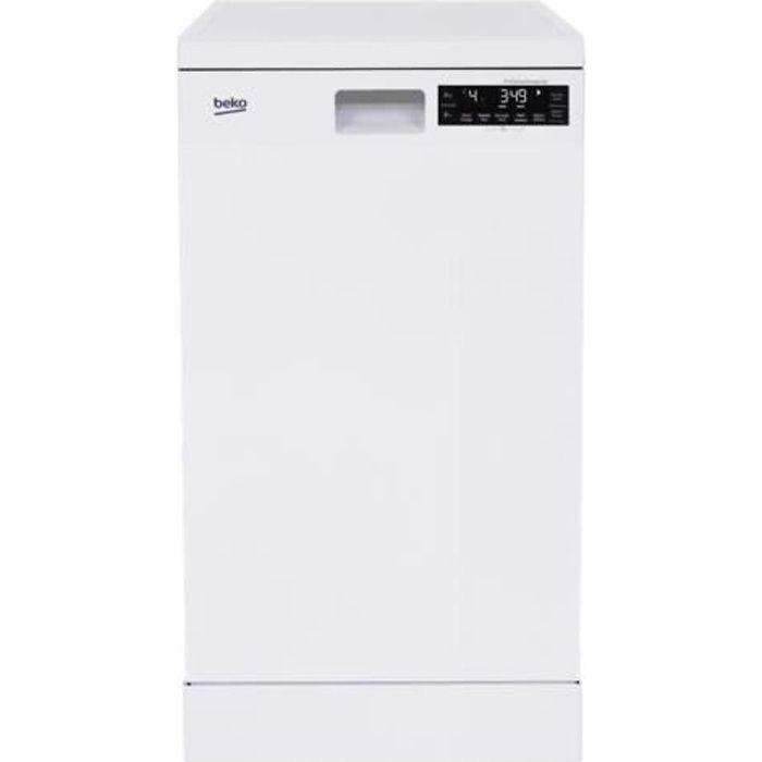 Beko DFS28120W Lave-vaisselle pose libre largeur : 44.8 cm profondeur : 60 cm hauteur : 85 cm blanc