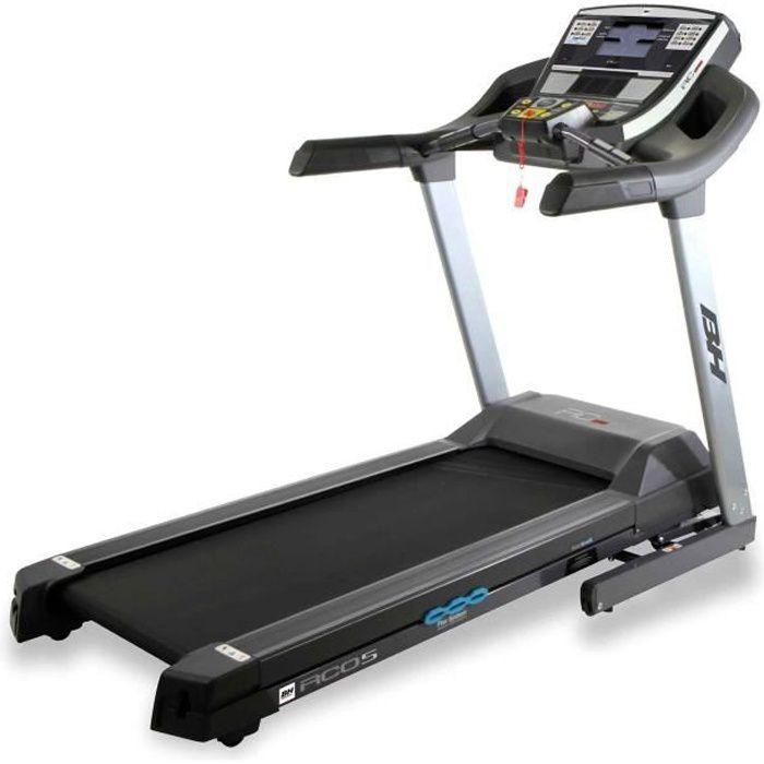 BH fitness i.RC05 G6175I Tapis de course électrique - pliable vit. Max. 22 Km/h - Inclinaison électrique 12% max - Surface de