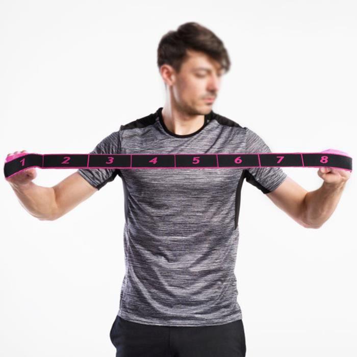 Bandes de Résistance Elastiques ceinture , Musculation-Bandes de Fitness Exercice Elastiques Gym Sport)-JUN