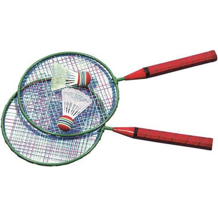 Mini Raquettes Badminton + 1 Volant