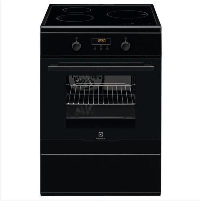 ELECTROLUX EKI66700OK - Cuisinière table induction-3 foyers- commandes tactiles - Four électrique-Pyrolyse-chaleur pulsée-54L