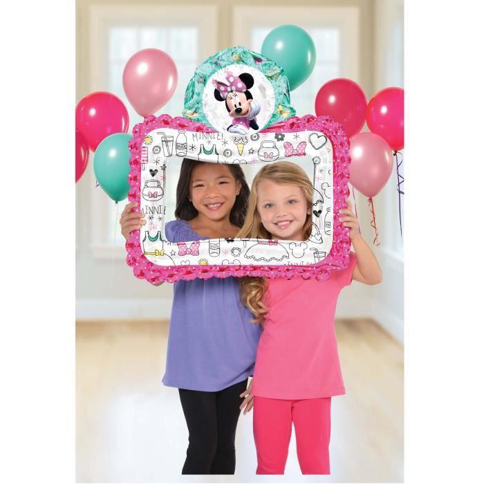 Ballon aluminium cadre Minnie Mouse