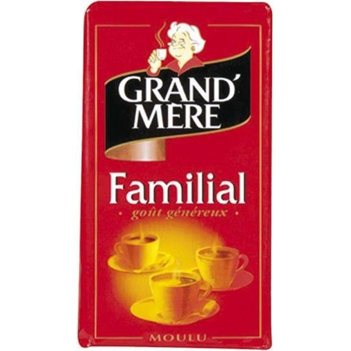 GRAND'MERE Café moulu familial - 250 g