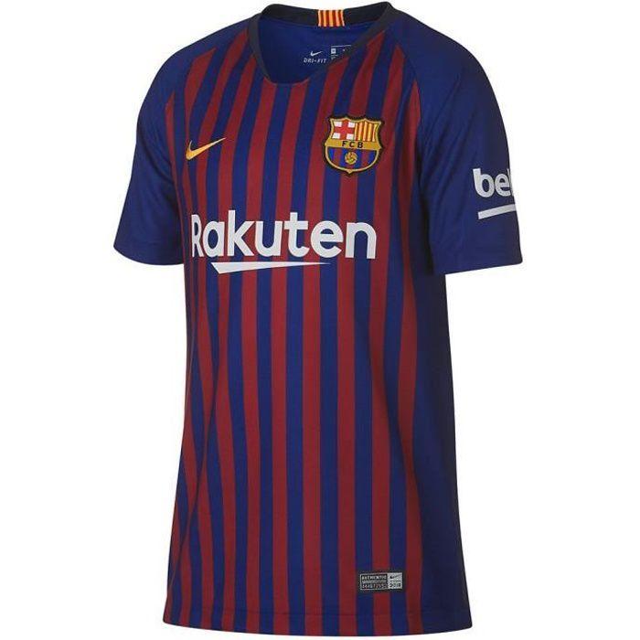 Maillot de foot Nike 2018/19 le FC Barcelone à la Maison de la Jeunesse - Color:Azul sizes:XL
