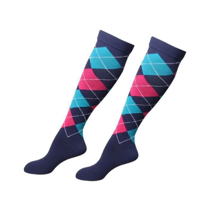Sports de plein air bas de compression chaussettes élastiques médicales athlétiques pour hommes femmes course SOCKS - SOCKS
