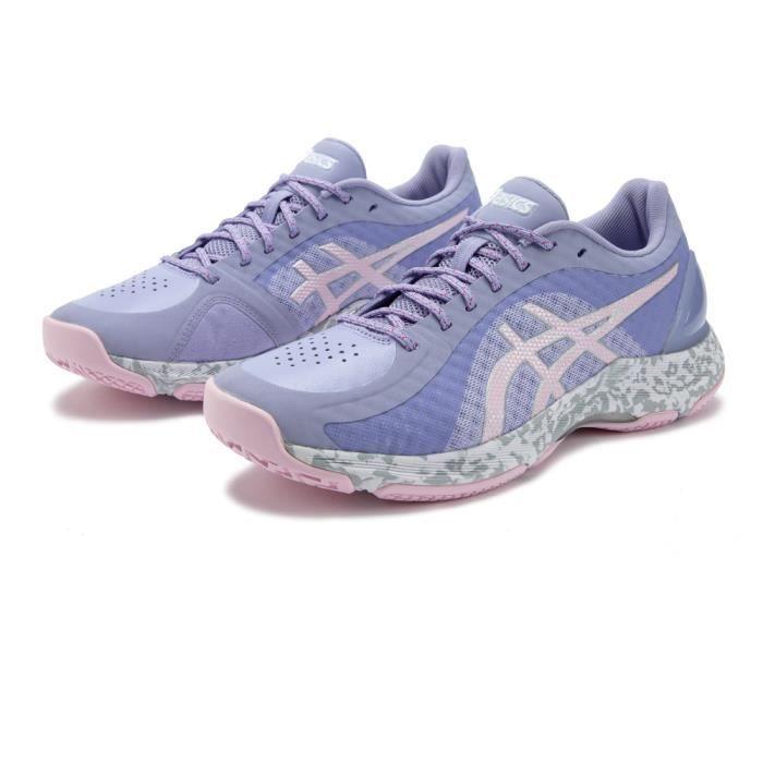 Asics Femmes Netburner Super FF Netball Chaussures De Sport Basketss Violet