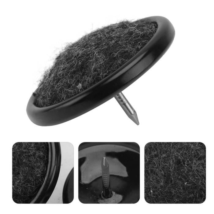 10 Pièces Chaise Jambe Tapis de Clous Anti-Slous Nail-sur Plancher Durable de tapis de sol confort conducteur passager