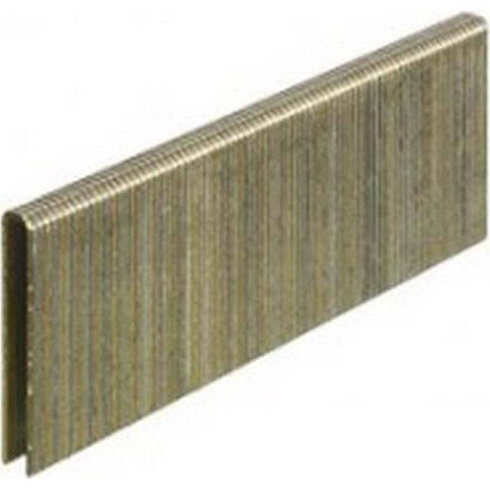 SENCO L11BAB - 5000 agrafes moyenne 18GA 19,05 mm EZ CP Galva-resine