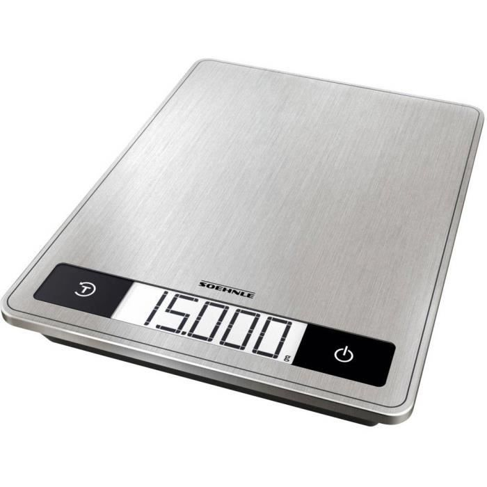Balance de cuisine numérique Soehnle KWD Page Profi 200 61509 numérique, avec fixation murale Plage de pesée (max.)=15 k