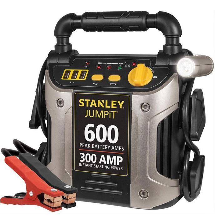 Démarreur BOOSTER Stanley 300 Ampères Instantané /600 Ampères crête