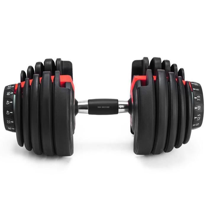 TD® Haltères détachables rapides pour hommes, haltères réglables pour équipement de fitness à domicile- 24KG*1