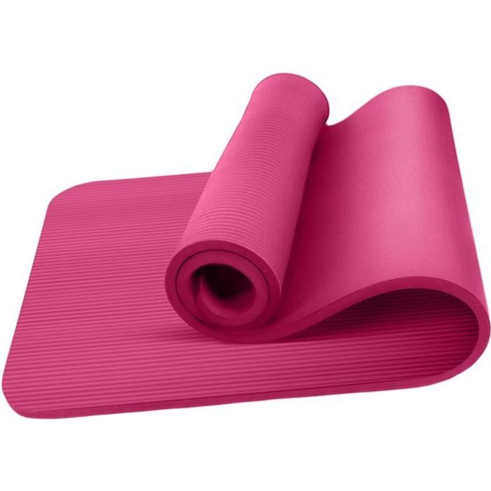 Tapis de Yoga Rose épais antidérapant pour sport fitness, gym, musculation, pilates