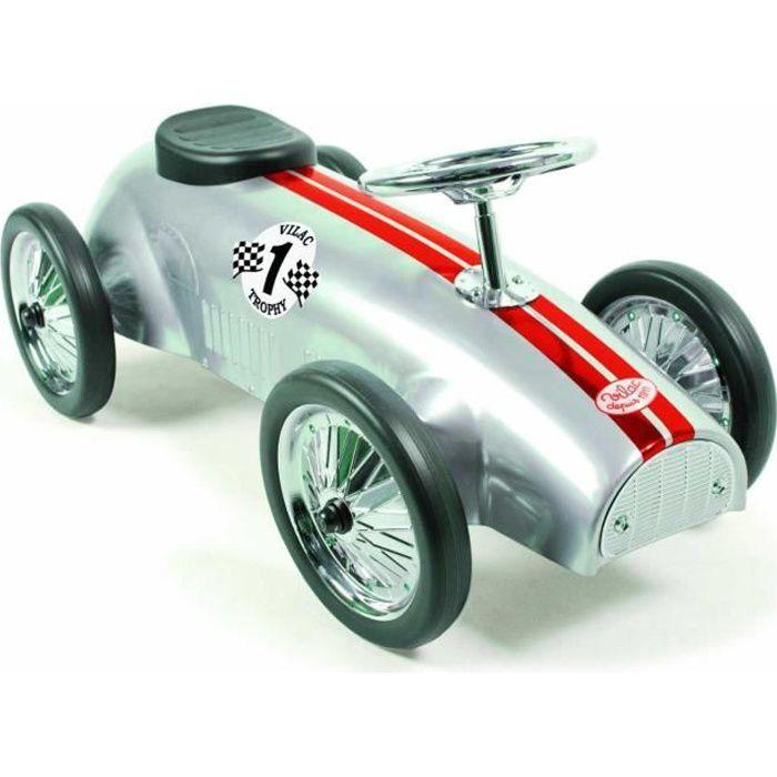 VILAC Porteur voiture de course argent