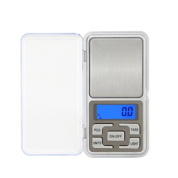 Mini balance /électronique de poche haute pr/écision 0,1 g//1 kg pour bijoux affichage LCD et r/étro-/éclairage LED