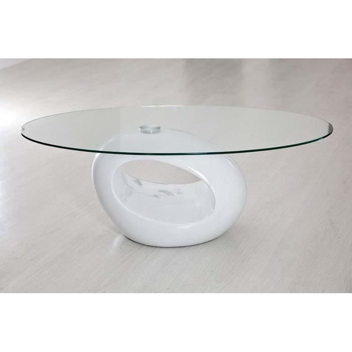 table basse laqu e blanc achat vente table basse table. Black Bedroom Furniture Sets. Home Design Ideas