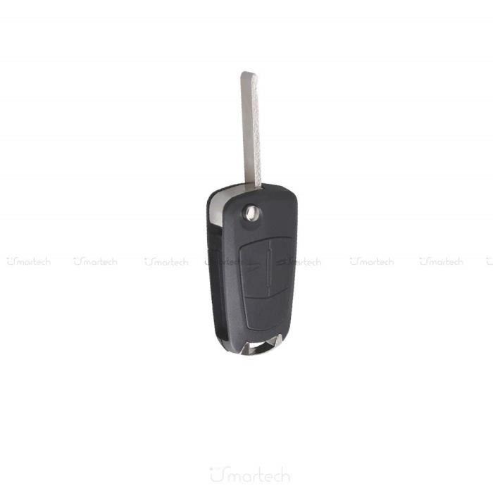 OPEL Astra H vectra C CORSA D clé touche 2 touches