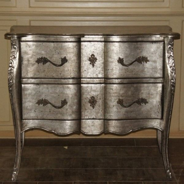 commode baroque faustine 2 tiroirs achat vente commode semainier cdiscount. Black Bedroom Furniture Sets. Home Design Ideas