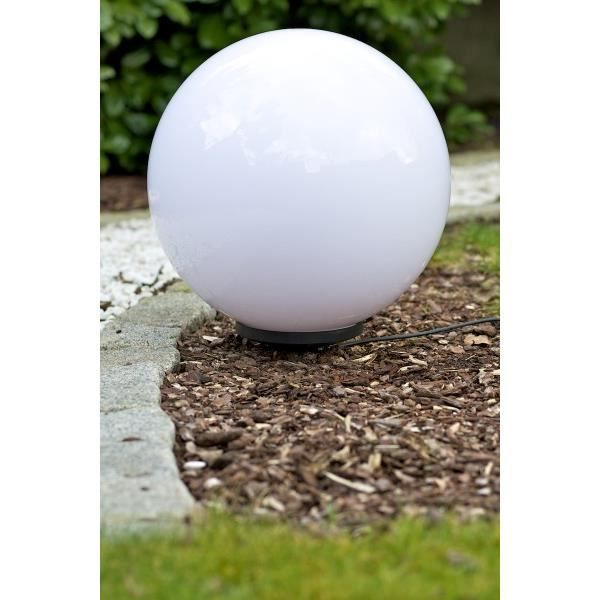 boule lumineuse eclairage jardin exterieur 50 cm achat vente boule miau 50 cm cdiscount. Black Bedroom Furniture Sets. Home Design Ideas