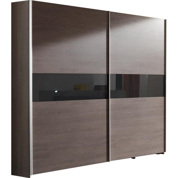 Grande armoire porte coulissante pas cher - cuisine idconcept