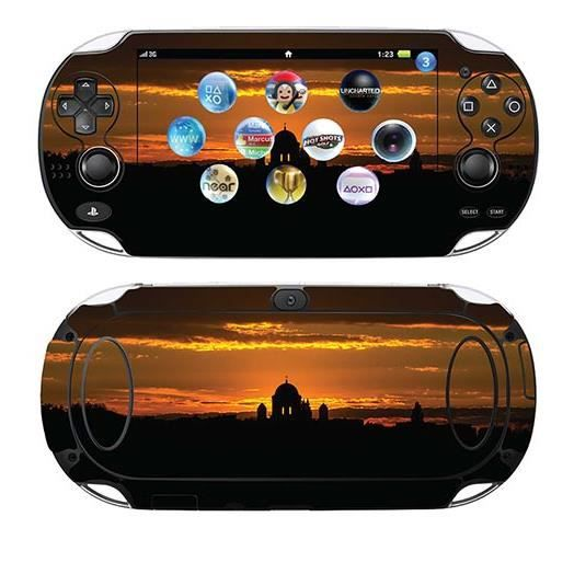 skin stickers pour sony ps vita sticker sunshine. Black Bedroom Furniture Sets. Home Design Ideas